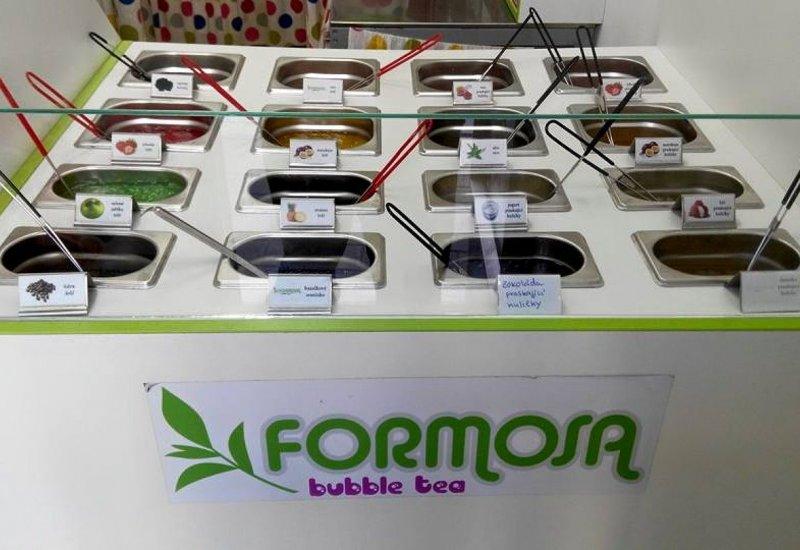 Čajovna Formosa bubble tea