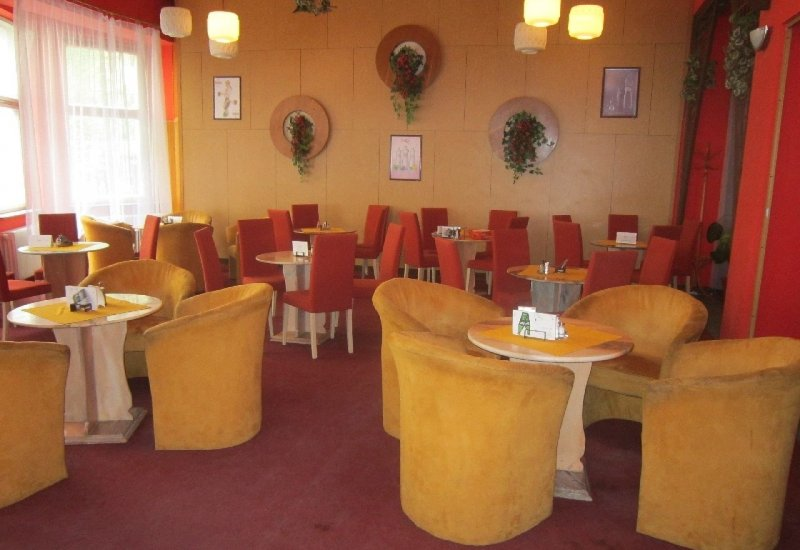 Restaurace v hotelu Vltava