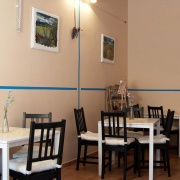 Kavárna hotelu Rilancio