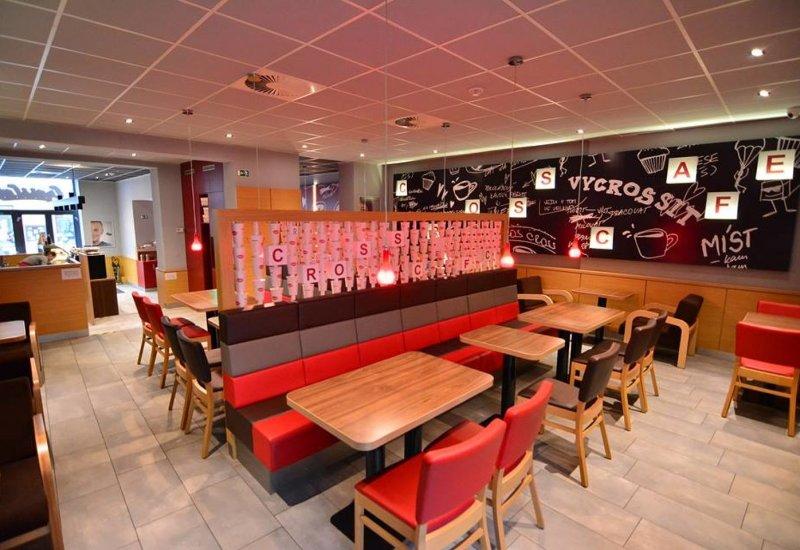 Kavárna CrossCafe Riegrova