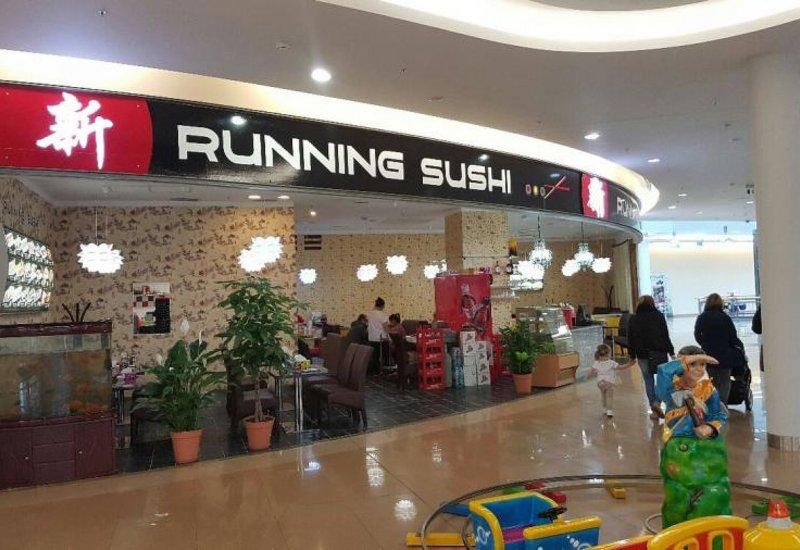 Running sushi Liberec
