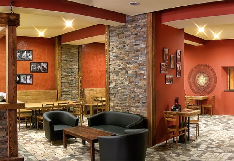 Kavárna Lezecká stěna Jirkov