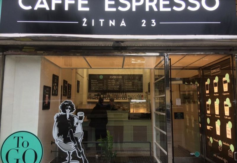 Espresso Caffé Pštrossova 27