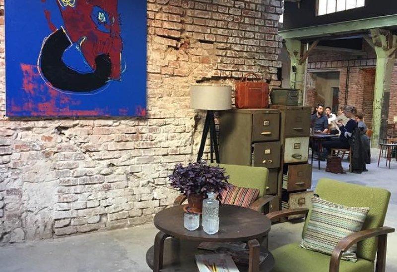 Kavárna SIGNATURE store & cafe - Vnitroblock